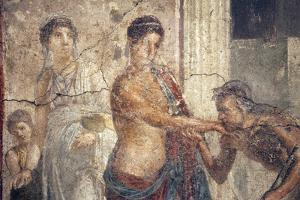 Italy, Naples, Naples Museum, The Centaur at the Wedding of Pirithous and Hippodamia by Samuel Magal