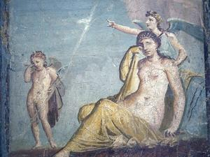 Italy, Naples, Naples National Archeological Museum, from Pompeii, Ariadne by Samuel Magal