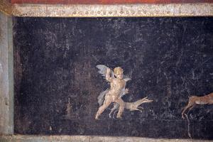 Italy, Naples, Naples National Archeological Museum, from Pompeii, (VII 6,28), Cubicle 8, Stage by Samuel Magal