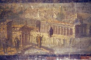 Italy, Naples, Naples National Archeological Museum, Herculaneum, Landscapes Architectural by Samuel Magal