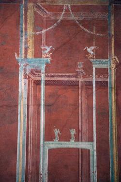 Italy, Naples National Archeological Museum, from Pompeii, Isis Temple, Portico, Decoration by Samuel Magal