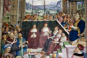 Italy, Siena, Siena Cathedral, Pius II convokes a Diet of Princes at Mantua  to proclaim a Crusade by Samuel Magal