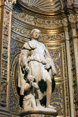 Italy, Siena, Siena Cathedral, Saint Ansano by Samuel Magal
