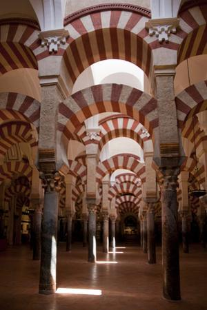 Spain, Andalusia, Cordoba, Cathedral–Mosque of Cordoba, Original Mosque, Arched Aisles