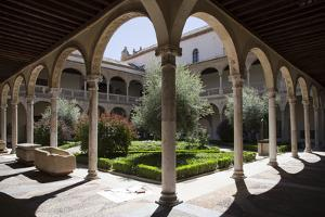 Spain, Toledo, Santa Cruz Museum, Cloister by Samuel Magal