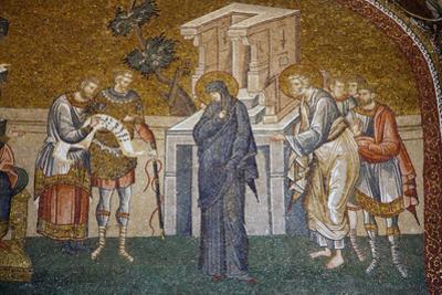 Turkey, Istanbul, Chora Church, Outer Narthex, Mosaic, The Enrollment For Taxation