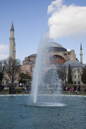 Turkey, Istanbul, Hagia Sophia, Exterior, Fountain