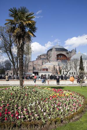 Turkey, Istanbul, Hagia Sophia, Exterior