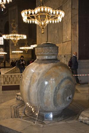 Turkey, Istanbul, Hagia Sophia,  Lustration Urn