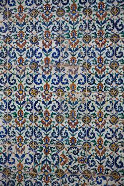 Turkey, Istanbul, Topkapi Palace, Tiles by Samuel Magal