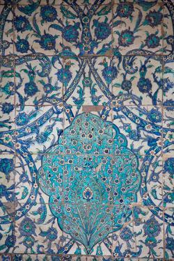 Turkey, Istanbul, Topkapi Palace, Tiles by Samuel Magal