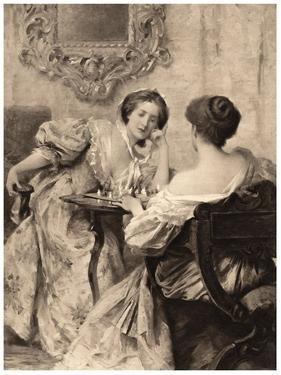 The Chess Players, 1903 by Samuel Melton Fisher
