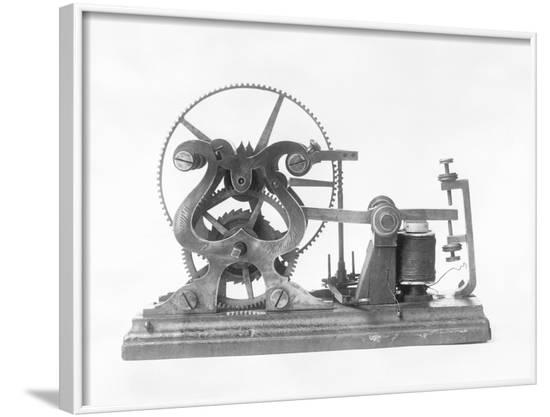 Samuel Morse's Telegraph--Framed Photographic Print
