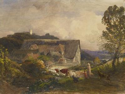 A Farmyard at Princes Risborough, 19th Century by Samuel Palmer