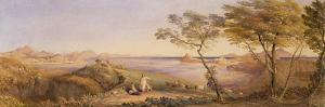 The Bay of Baiae from Monte Nuovo by Samuel Palmer