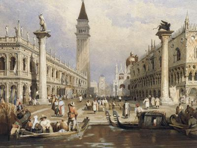 The Entrance to St Mark's Square, Venice