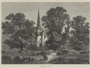 A Country Church by Samuel Read