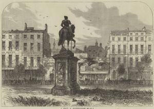 A Sketch in Leicester-Square by Samuel Read