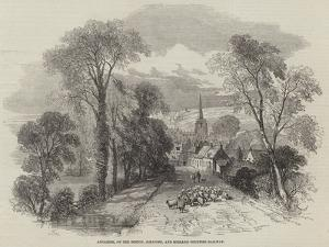 Ancaster, on the Boston, Sleaford, and Midland Counties Railway by Samuel Read