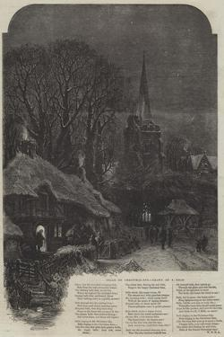 Bells on Christmas-Eve by Samuel Read