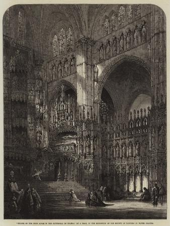 Chapel of the High Altar in the Cathedral of Toledo