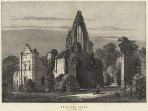 Dryburgh Abbey by Samuel Read