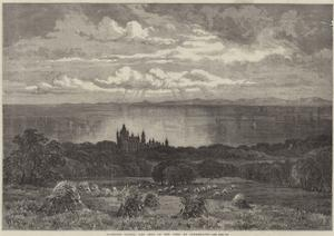 Dunrobin Castle, the Seat of the Duke of Sutherland by Samuel Read