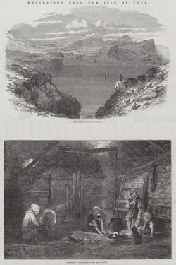 Emigration from the Isle of Skye by Samuel Read