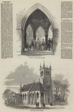 Escrick Church, Yorkshire by Samuel Read