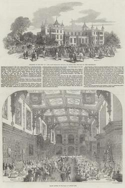 Festivities at Audley End by Samuel Read