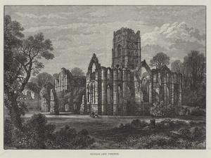 Fountains Abbey, Yorkshire by Samuel Read