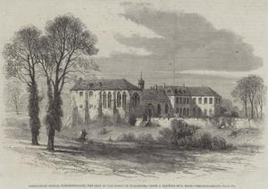 Hartlebury Castle, Worcestershire, the Seat of the Bishop of Worcester by Samuel Read