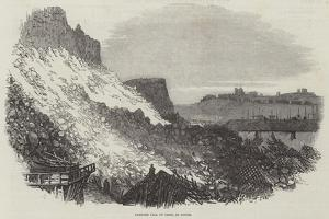 Immense Fall of Cliff, at Dover by Samuel Read