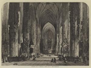 Interior of St Stephen's, Vienna by Samuel Read