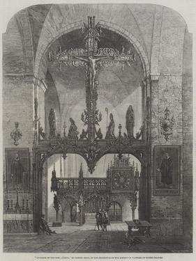 Interior of the Dom, Lubeck by Samuel Read