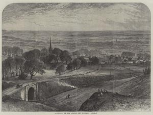 Leadenham, on the Lincoln and Honington Railway by Samuel Read