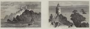 Lighthouses of Alderney by Samuel Read