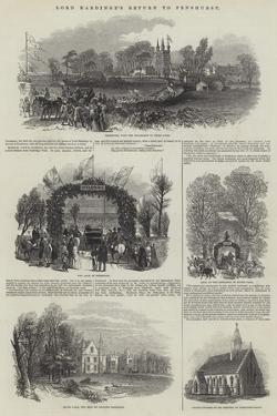Lord Hardinge's Return to Penshurst by Samuel Read