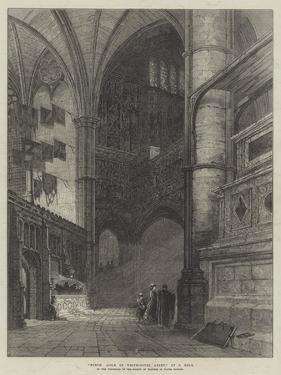 North Aisle of Westminster Abbey by Samuel Read