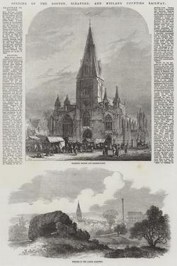 Opening of the Boston, Sleaford, and Midland Counties Railway by Samuel Read