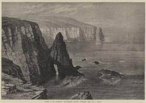 Opening of the Sutherland and Caithness Railway, Duncansby Head, John O' Groats by Samuel Read