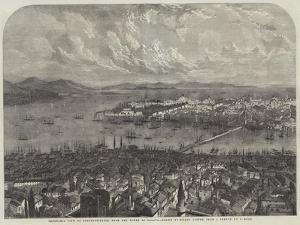 Panoramic View of Constantinople, from the Tower of Galata by Samuel Read