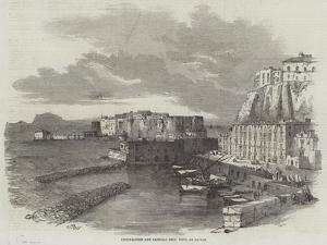 Pizzofalcone and Castello Dell' Uovo, at Naples by Samuel Read