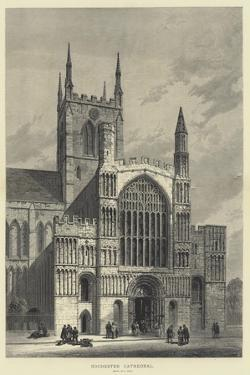 Rochester Cathedral by Samuel Read