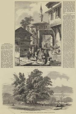Sketches in Constantinople by Samuel Read