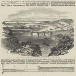 South Wales Railway, Opening of the Chepstow Bridge by Samuel Read