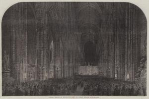 Special Service in Westminster Abbey on Sunday Evening Last by Samuel Read