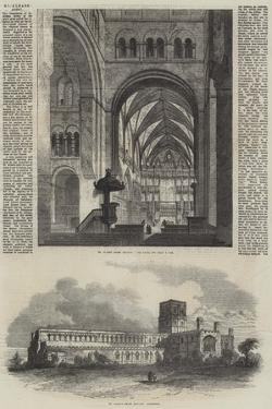 St Albans Abbey by Samuel Read