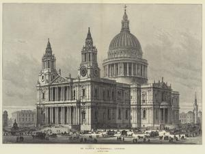 St Paul's Cathedral, London by Samuel Read