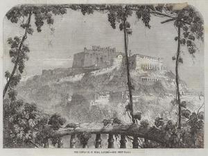 The Castle of St Elmo, Naples by Samuel Read